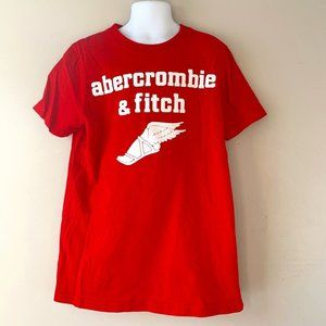 ABERCROMBIE KIDS red t-shirt size M